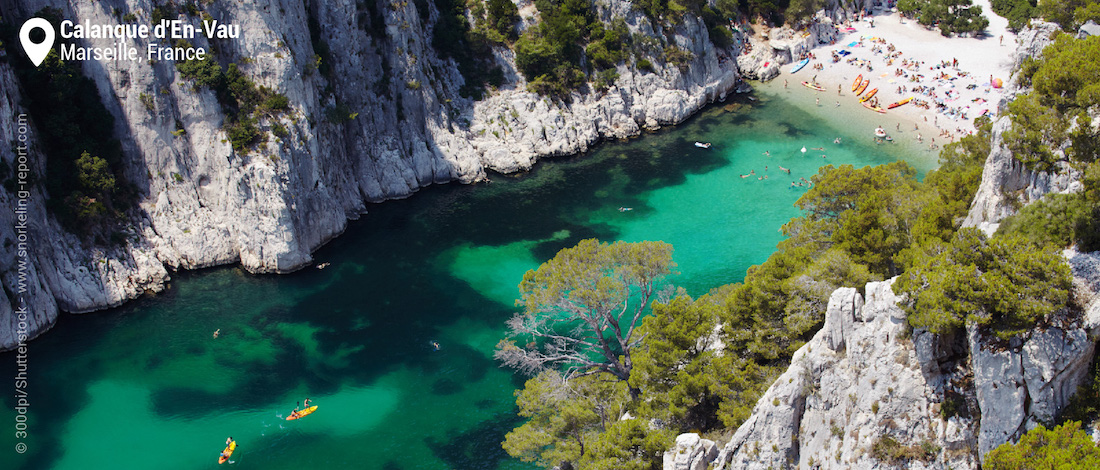 View of Calanque d'En Vau