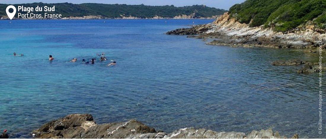 Plage du Sud, Port Cros