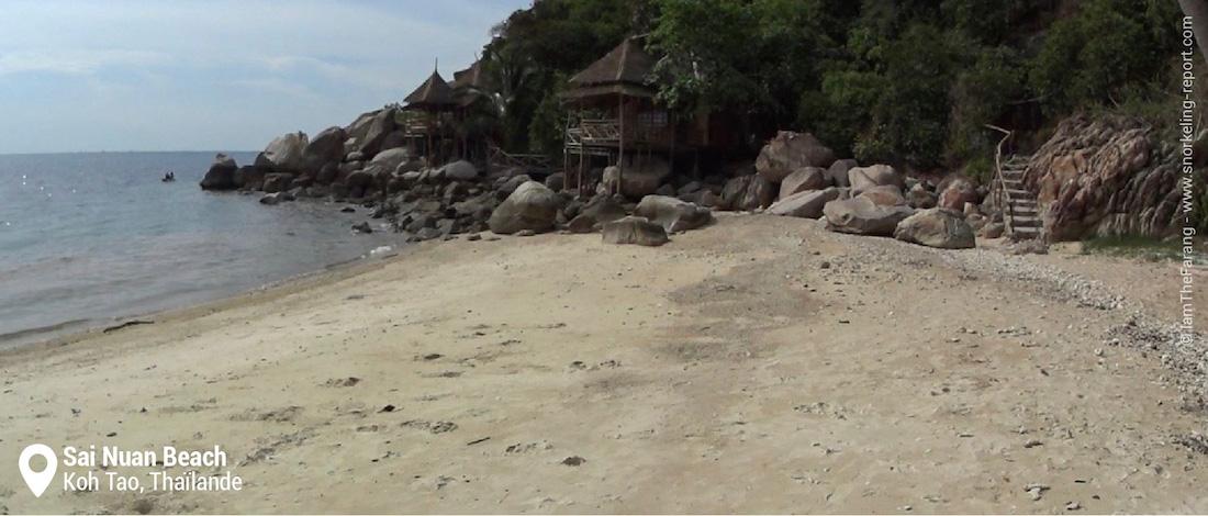 La plage de Sai Nuan Beach