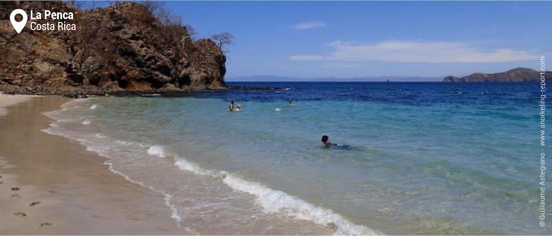 La plage de La Penca, Costa Rica
