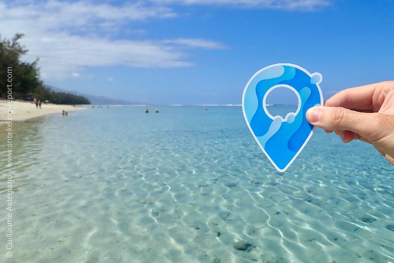 Spot de snorkeling à l'île de la Réunion