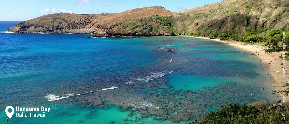 Snorkeling at Hanauma Bay, Oahu
