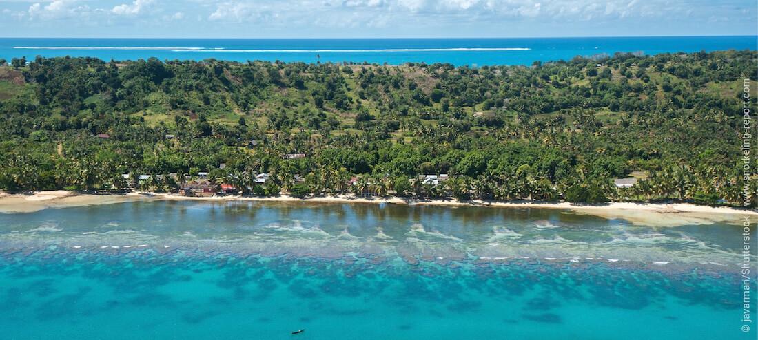 Récifs coralliens de l'île Sainte-Marie, Madagascar