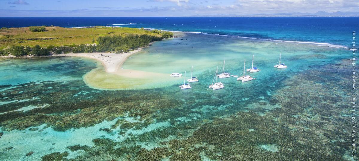 Vue aérienne îlot Gabriel