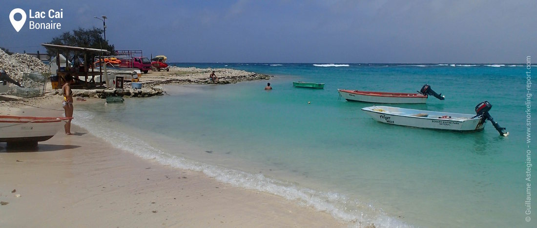 Lac Cai snorkeling area, Bonaire