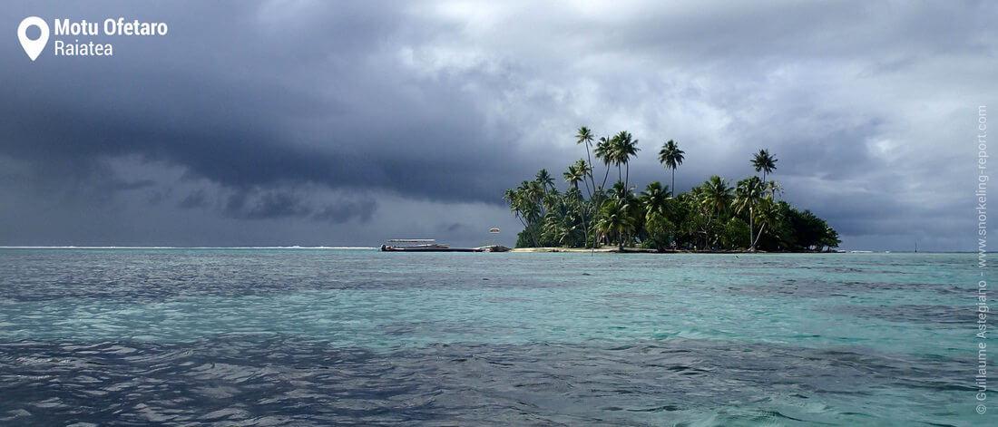Motu Ofetaro snorkeling, Raiatea