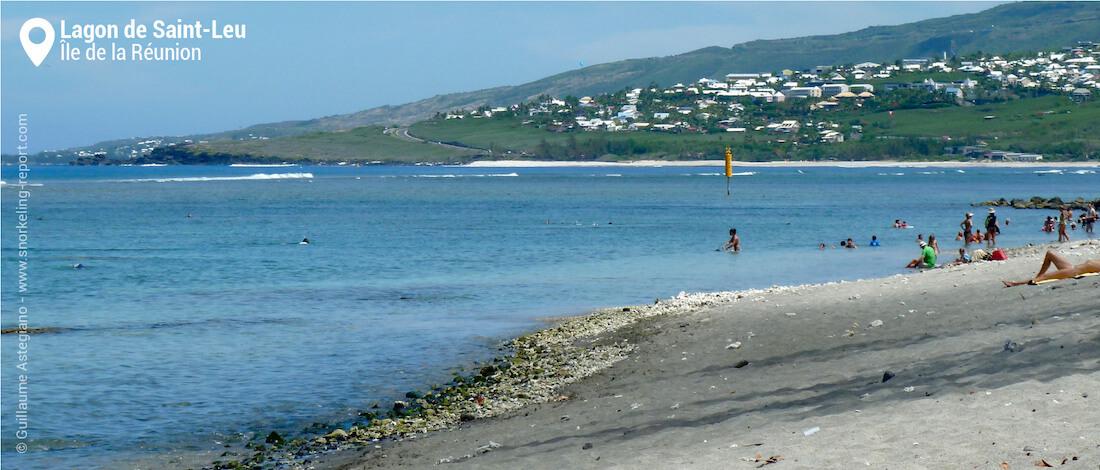 La plage de Saint-Leu, La Réunion