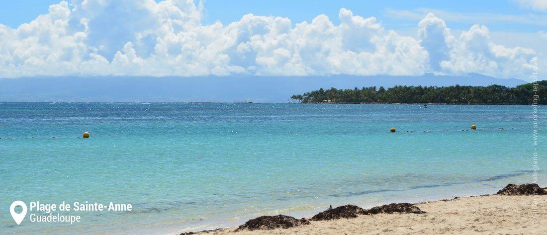Snorkeling à la plage de Sainte-Anne, Guadeloupe