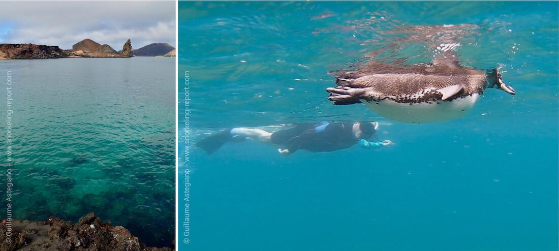 Snorkeling Sullivan Bay and Bartolome Island, Galapagos