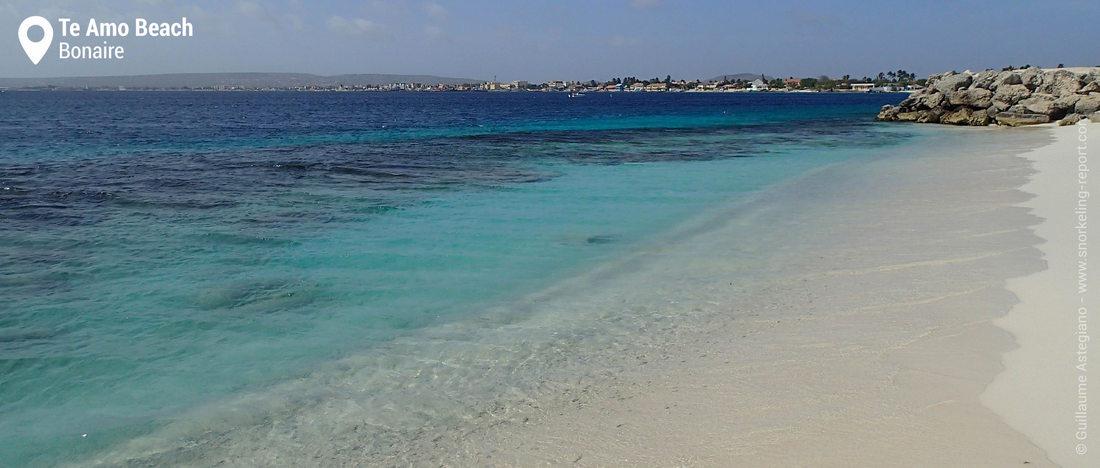 Te Amo beach, Bonaire