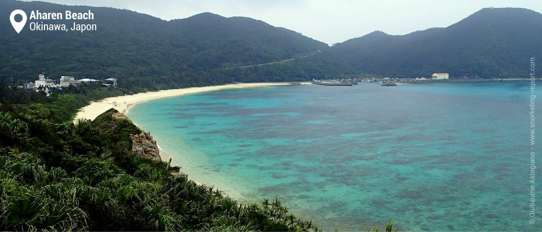 Vue sur la baie d'Aharen, Tokashiki Islands