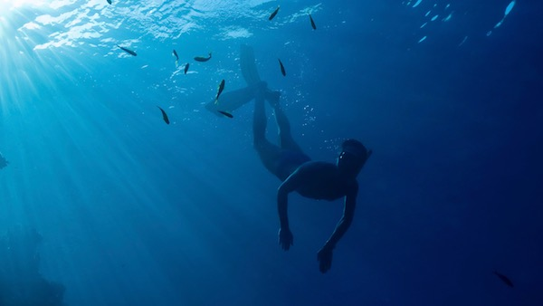 Snorkeling freediving