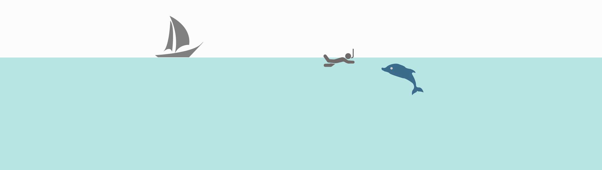 Les types de spots de snorkeling - Pleine mer