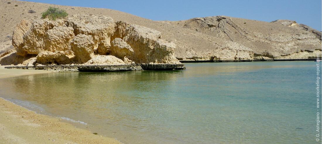 Beach in Bandar Jissah, Muscat