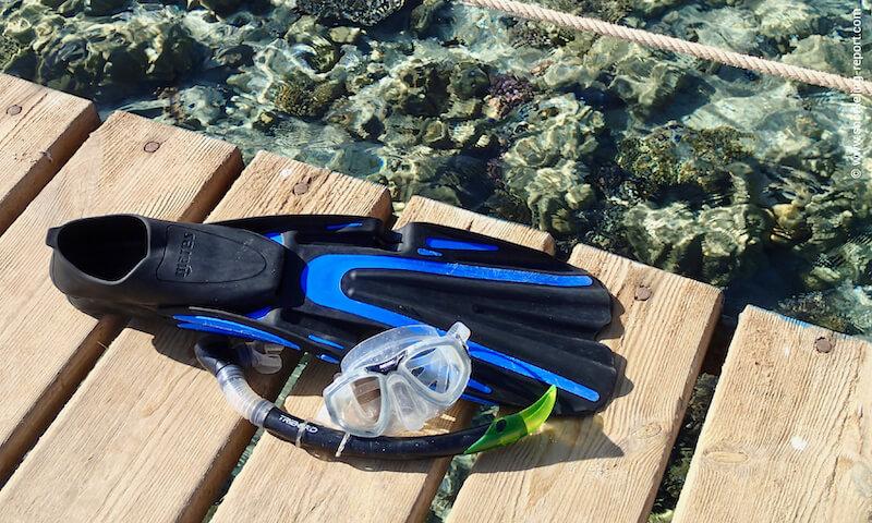 snorkel-fins