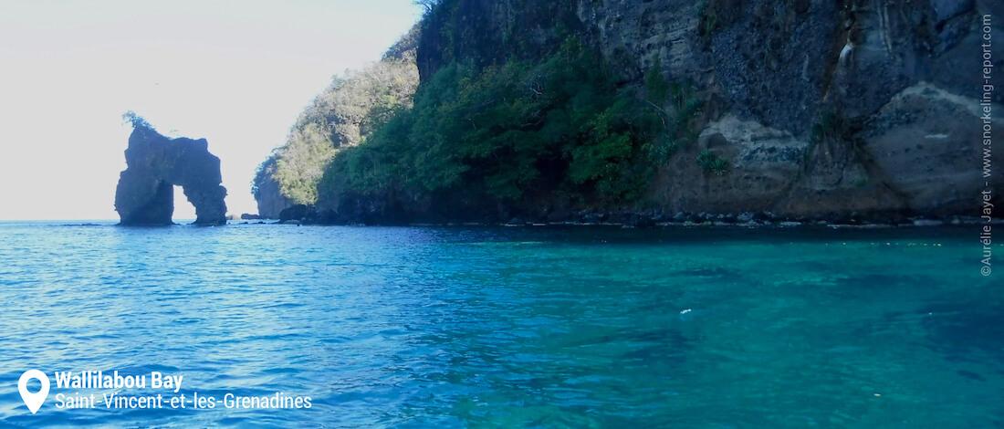 L'arche de Pirates des Caraïbes de Wallilabou Bay
