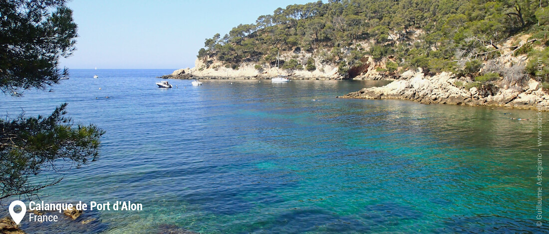 View of Calanque de Port d'Alon