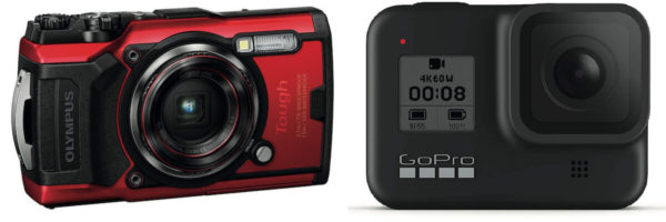 Our choice of underwater cameras
