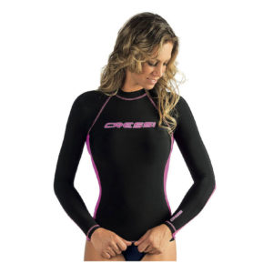Cressi Women's Performance Dry Fit Rash Guard_long_sleeve_front