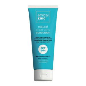 Ethical Zinc sunscreen