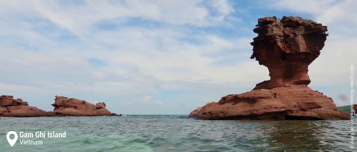 Gam Ghi Island rock, Phu Quoc