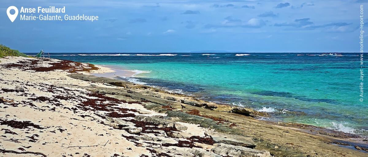 Anse Feuillard beach