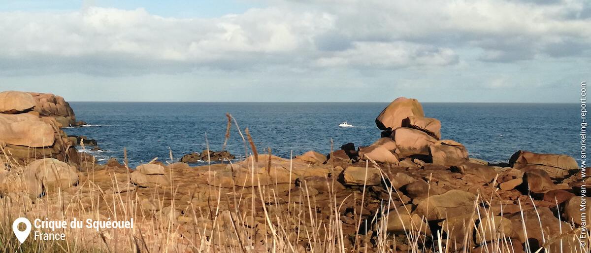 Snorkeling sur la Côte de Granit Rose