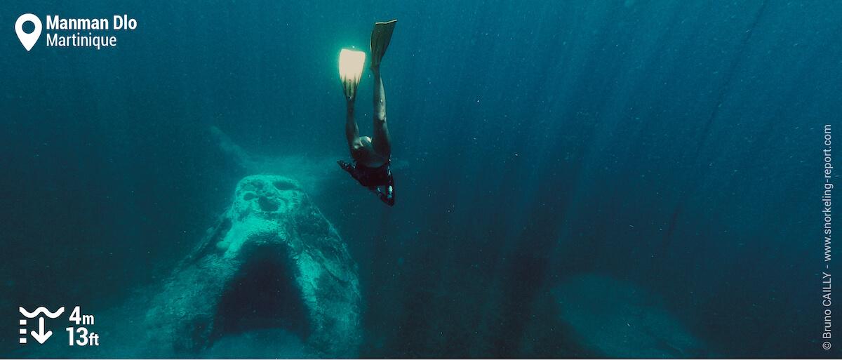 Freediving Manman Dlo