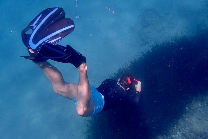 Swimfins for snorkeling