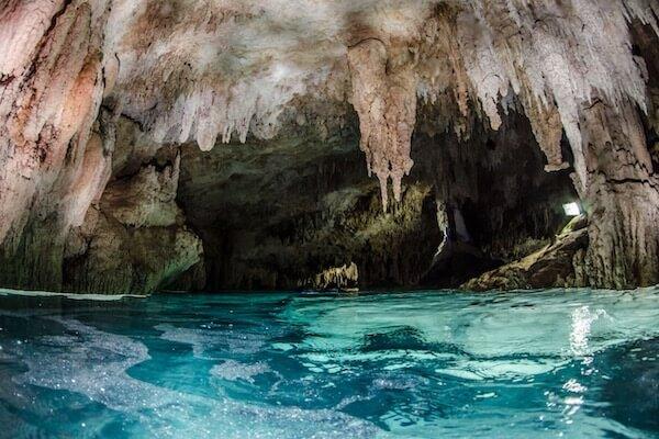 Cave cenote