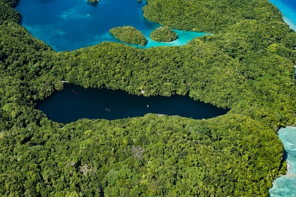 Lake in Palau