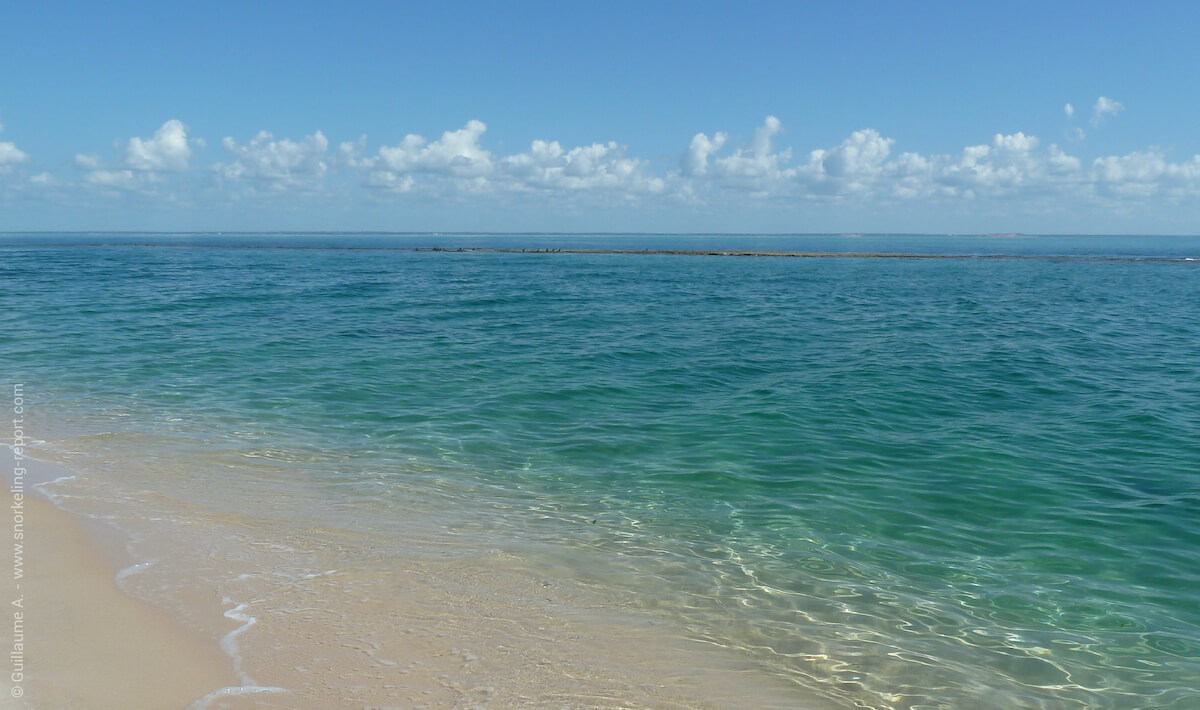 Beach in Bazaruto archipelago