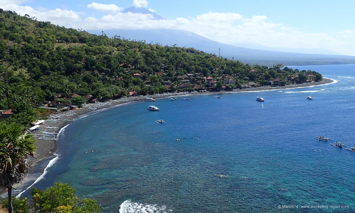 Jemeluk Beach, Bali