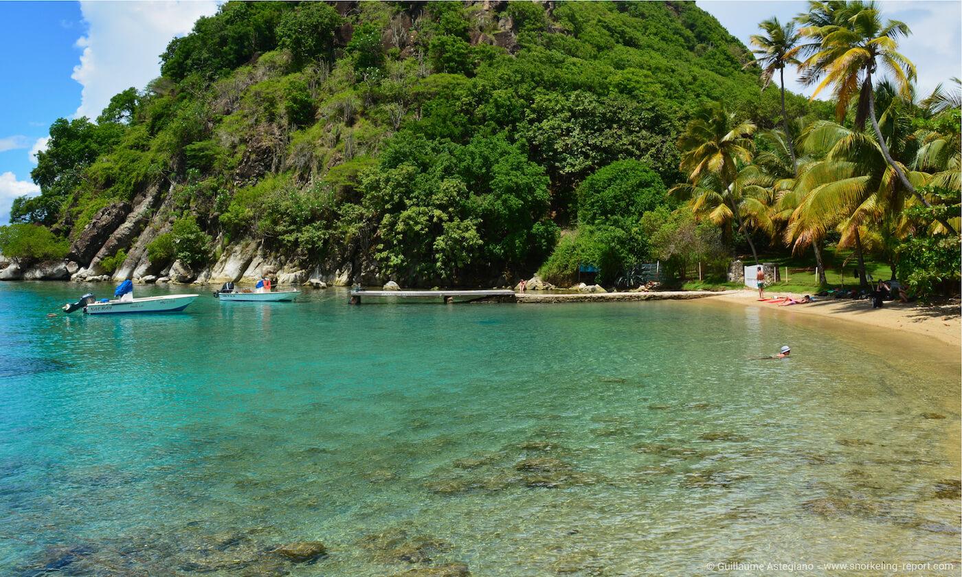 Pain de Sucre Beach, Guadeloupe