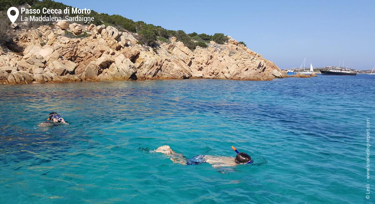 Snorkeling à La Maddalena, Sardaigne
