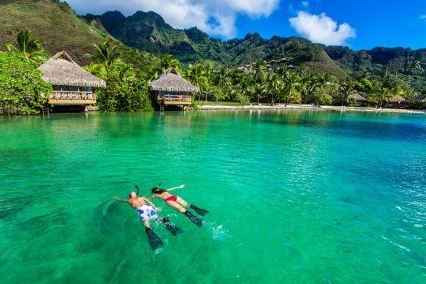 Island of tahiti