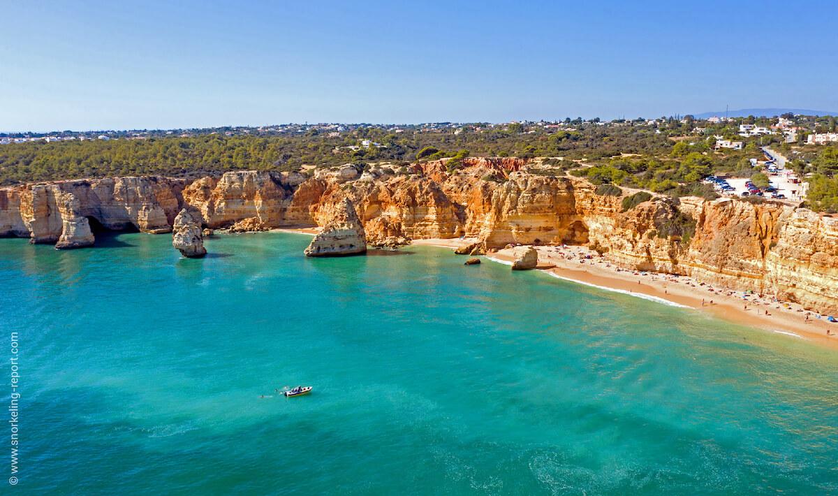Praia do Marinha, Portugal
