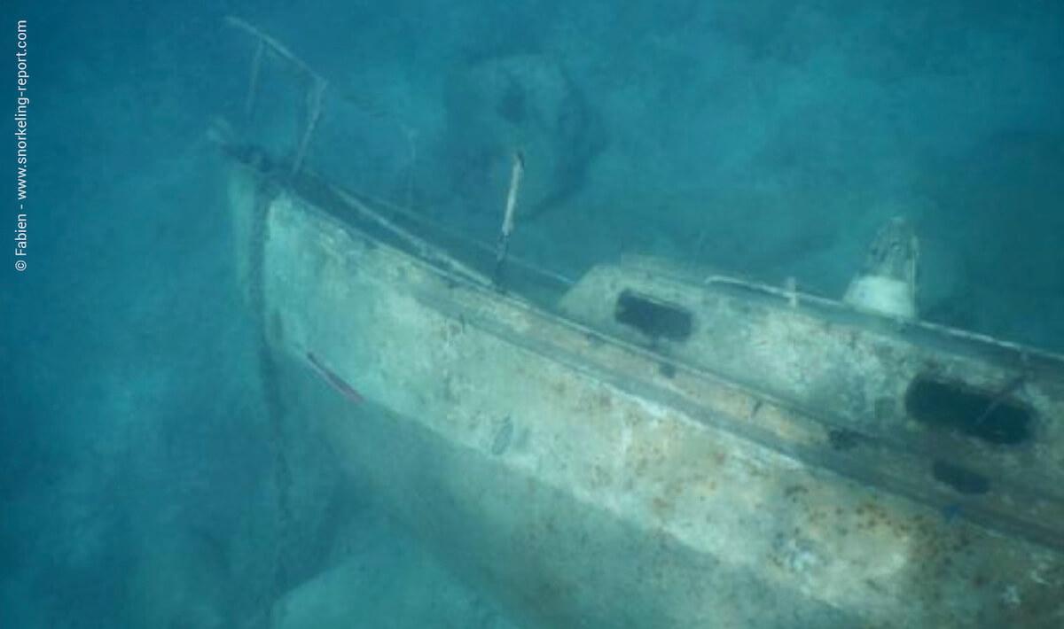 Wreck at Tiki Hut