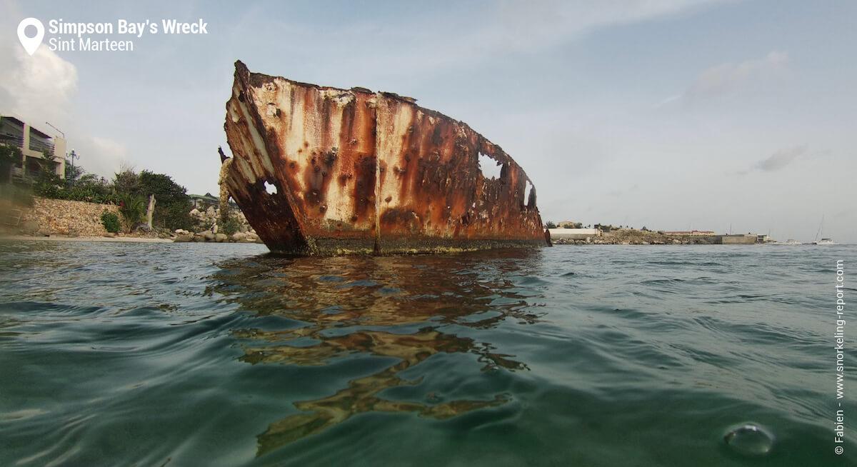 Simpson Bay's Wreck